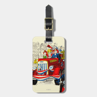 Fourth of July Parade Luggage Tag
