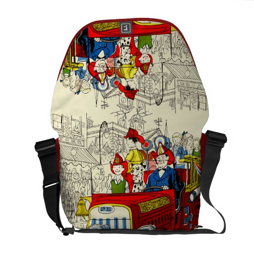 Fourth of July Parade Courier Bag
