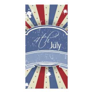 Fourth of July Picture Card