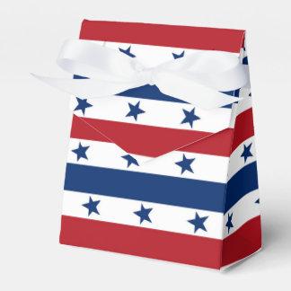 Fourth Stars stripes Patriotic Party favor box