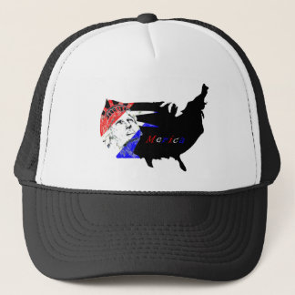 Fourth Statue of Liberty Red White and Blue Hat