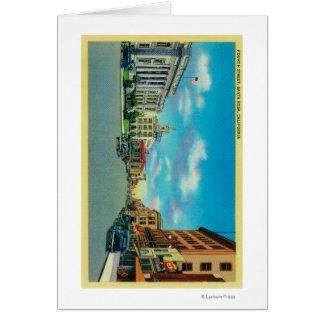 Fourth Street in Santa Rosa, CASanta Rosa, CA Cards