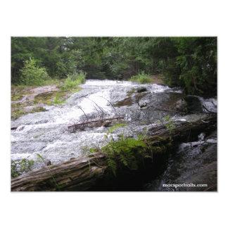 Fourty Foot Falls Art Photo