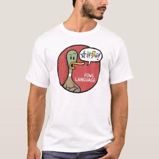 Fowl Language Grumpy Shirt