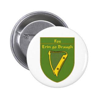 Fox 1798 Flag Shield 6 Cm Round Badge