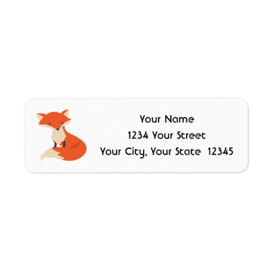Fox Address Labels