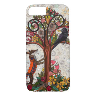 fox and crow iPhone 7 case