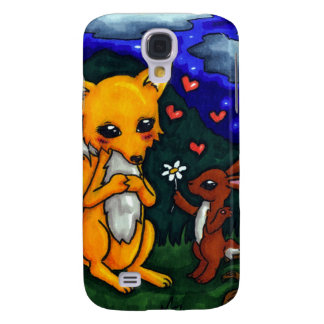 fox and hare love story galaxy s4 case