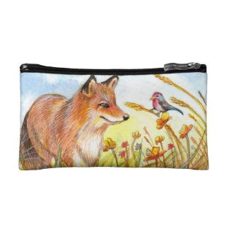 Fox and Little Bird Makeup Bag