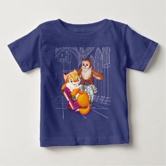 fox and owl baby T-Shirt