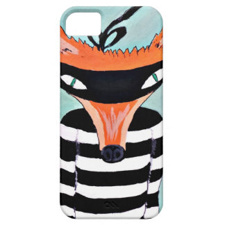 Fox and Robbers by PaperTree iPhone 5 Case