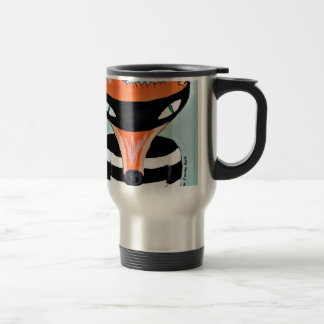 Fox and Robbers by PaperTree Travel Mug
