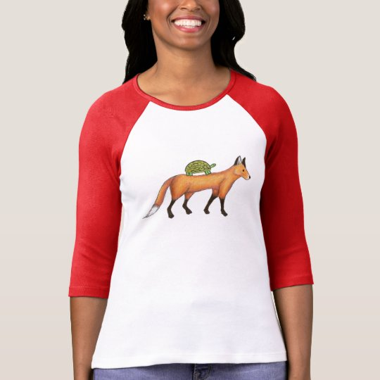 Fox and Turtle shirt