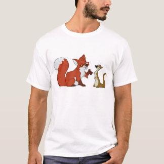 Fox and Weasel Talk T-Shirt