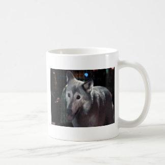 FOX at night dangerous animal cunning wild creatur Coffee Mug
