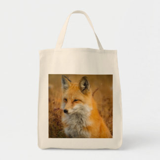 fox bag, fox tote, fox shopper, wildlife gifts tote bag