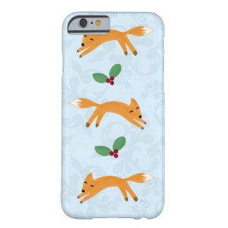 Fox & Berries Barely There iPhone 6 Case
