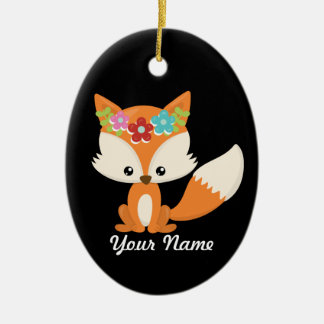 Fox Christmas Tree Decor Christmas Ornament