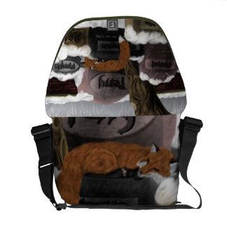 Fox Cimitiere Bag Courier Bag
