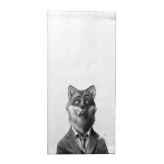 Fox Cloth Napkin (12x12)