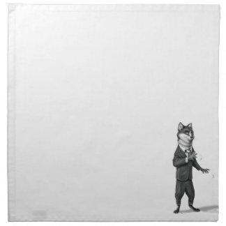 Fox Cloth Napkin (20x20)