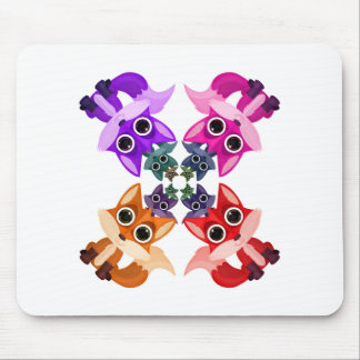 Fox Crowd (2) Mousepads