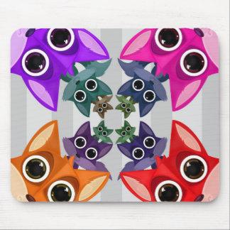 Fox Crowd Mousepads