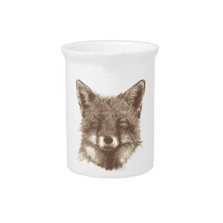 Fox cup/mug pitcher
