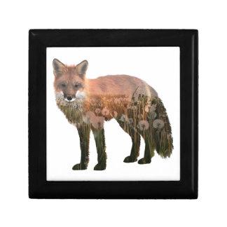 Fox Double Exposure Gift Box