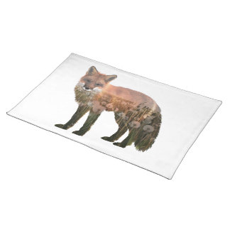 Fox Double Exposure Placemat