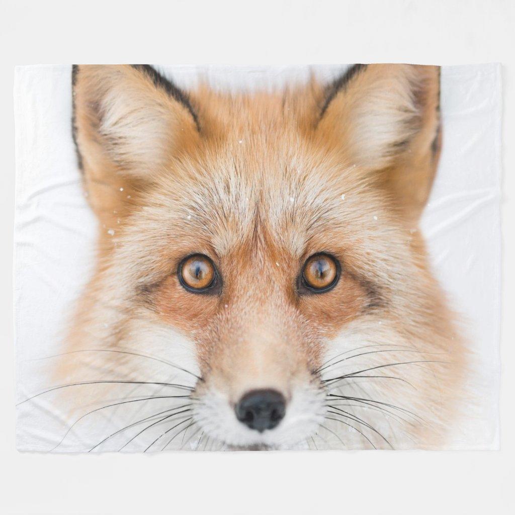 FOX FACE BLANKET