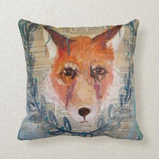 Fox Face Pillow
