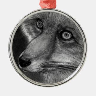 Fox Face Premium Ornament