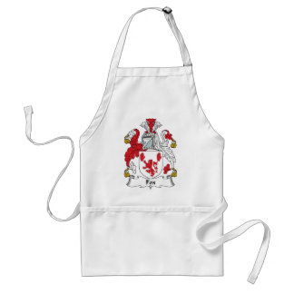 Fox Family Crest Standard Apron