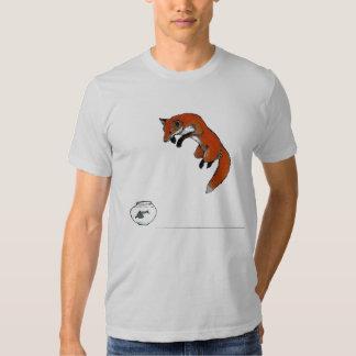 Fox Fishing Tee Shirt