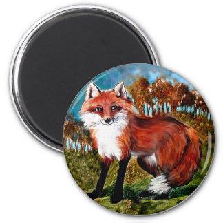 Fox Foxes Wildlife Animals Magnet