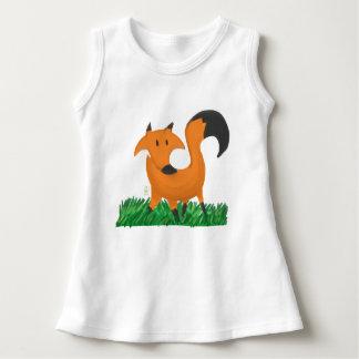 Fox garden dress