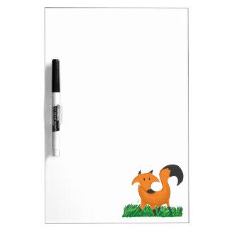 Fox garden dry erase board