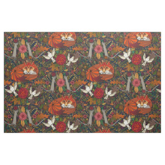 fox garden fabric