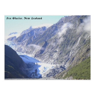 Fox Glacier poster