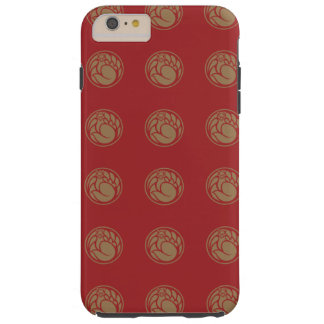 Fox god vintage pattern / japanese tradition color tough iPhone 6 plus case