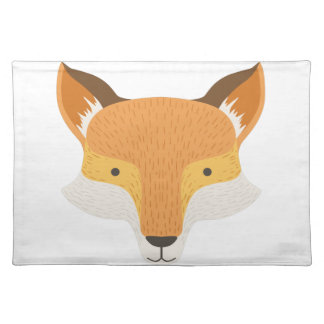 Fox Head As A National Canadian Culture Symbol Placemat