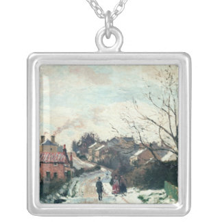 Fox hill, Upper Norwood, 1870 Silver Plated Necklace