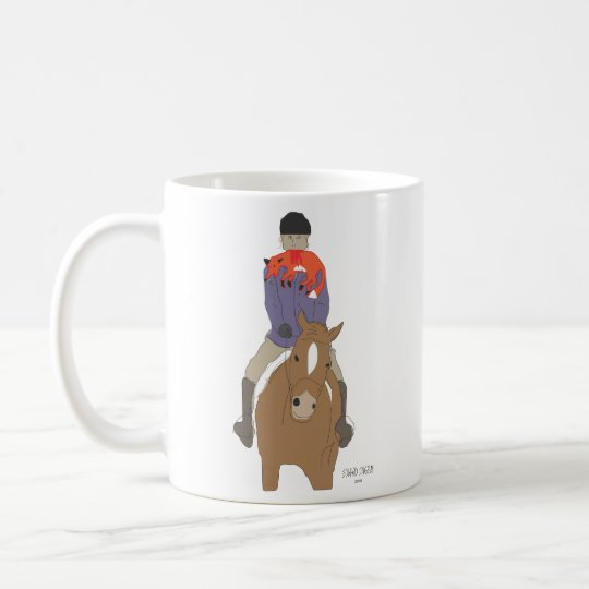 Fox Hunt Breakfast Coffee Mug