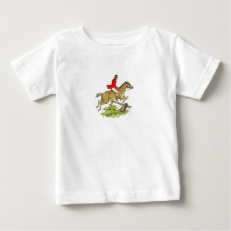 Fox Hunt Jumper Hunter Horse Baby T-Shirt