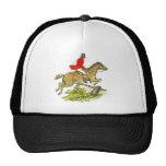 Fox Hunt Jumper Hunter Horseback Riding Cap
