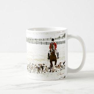 fox hunt mug