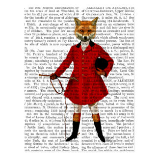 Fox Hunter 2 Full Postcard