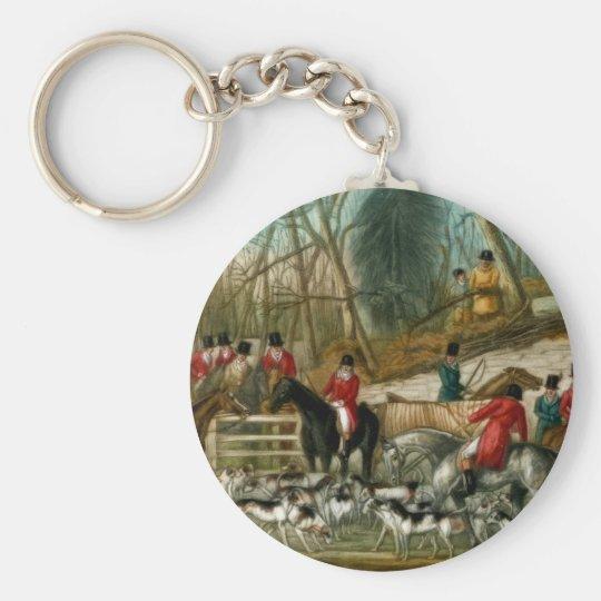 Fox Hunting 1 Key Ring