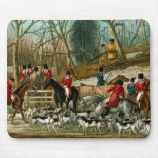 Fox Hunting 1 Mouse Mat